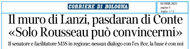 Intervista Corriere della Sera