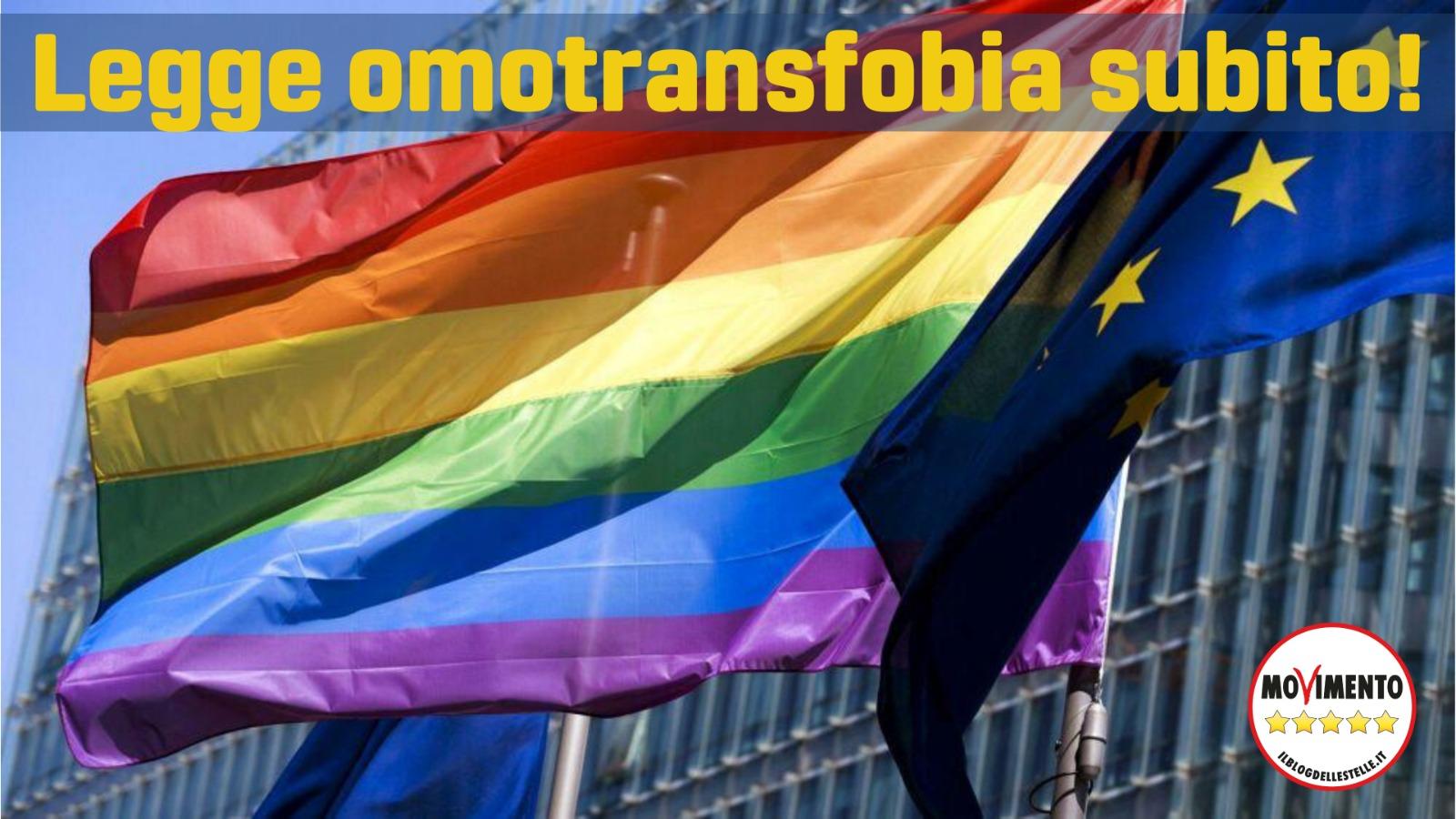 Il #M5S ha voluto l'istituzione e il finanziamento degli sportelli e centri rifugio #LGBT, ora in bando presso l'#UnarIl M5S ha voluto l'istituzione della giornata contro l'omolesbobitransfobia e percorsi di educazione e sensibilizzazione nelle scuole Il M5S alla Camera, attraverso la sua presidenza della commissione Giustizia, ha immediatamente calendarizzato le proposte di legge .